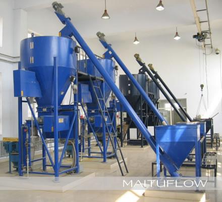 石灰、活性炭、高锰酸钾投加系统