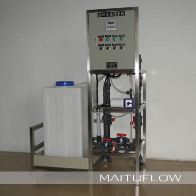 工业中央空调冷却塔循环水加药系统