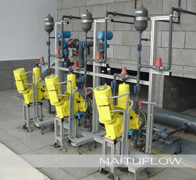 自来水厂、污水处理厂加药设备改造、维修、新建