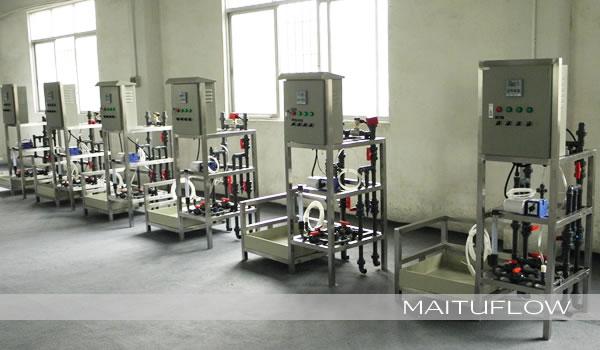 中央空调冷却循环水加药系统
