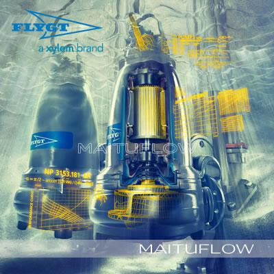 美国ITT赛莱默(Xylem)瑞典飞力(Flygt)污水泵