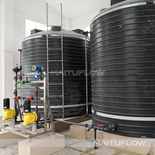 硫酸铝、碳源、次氯酸钠投加系统加药装置