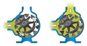 美国威肯VIKING内齿轮泵示意图