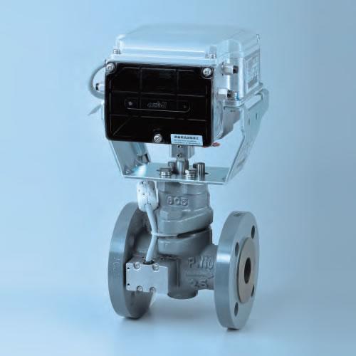 日本阿自倍尔Azbil蒸汽电动比例控制阀、执行器、定位器
