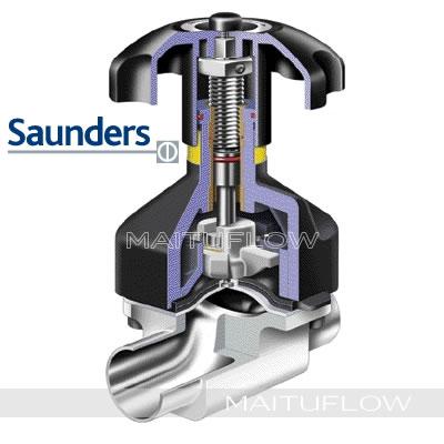 英国桑德斯(Saunders)卫生隔膜阀