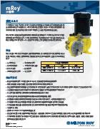 美国米顿罗mRoy新款液压隔膜计量泵